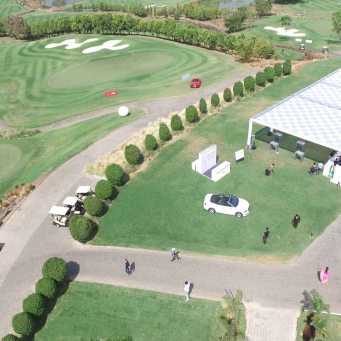 Aerial Photography of Oxford Golf Club Pune by Aerial Photo India