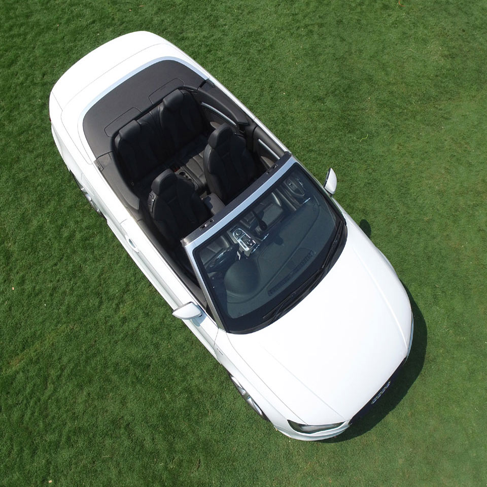 Aerial Photography of Audi by Aerial Photo India